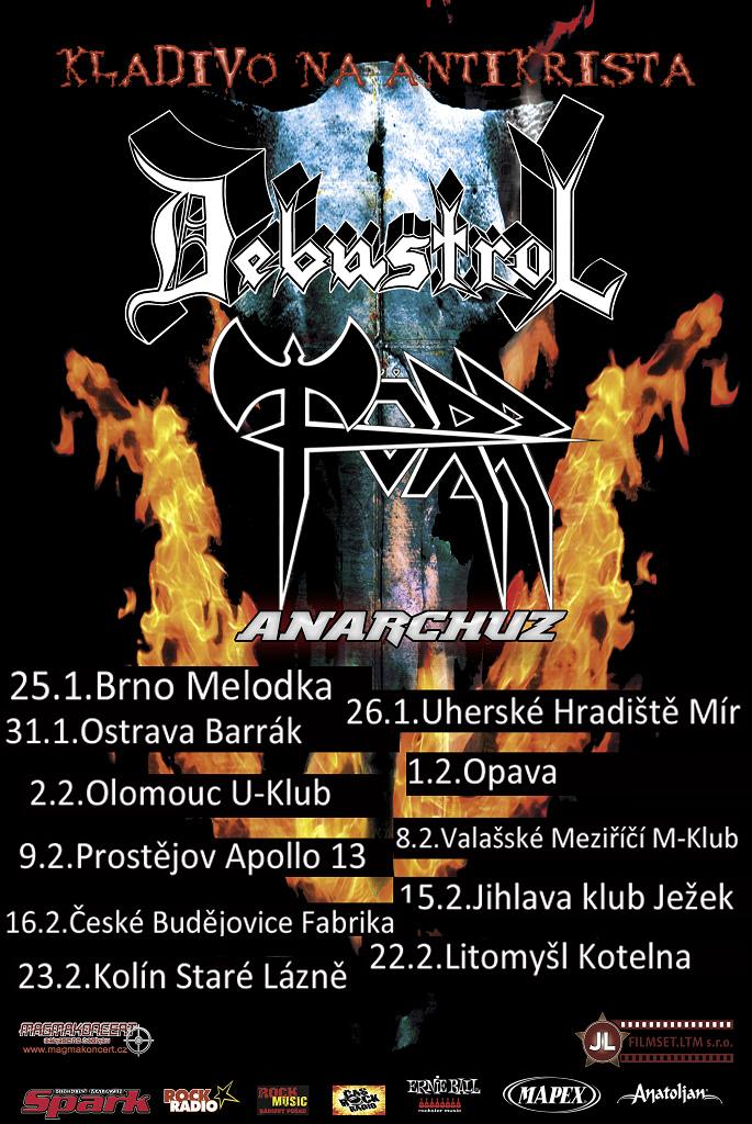 Plakát Kladivo na Antikrista 2013